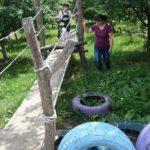 Spielen im Erlebnisgarten